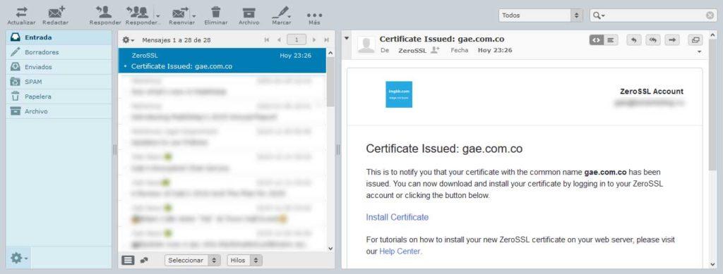 Tu Marketing Bogotá - Cómo obtener un certificado SSL gratis para tu hosting en GoDaddy 15