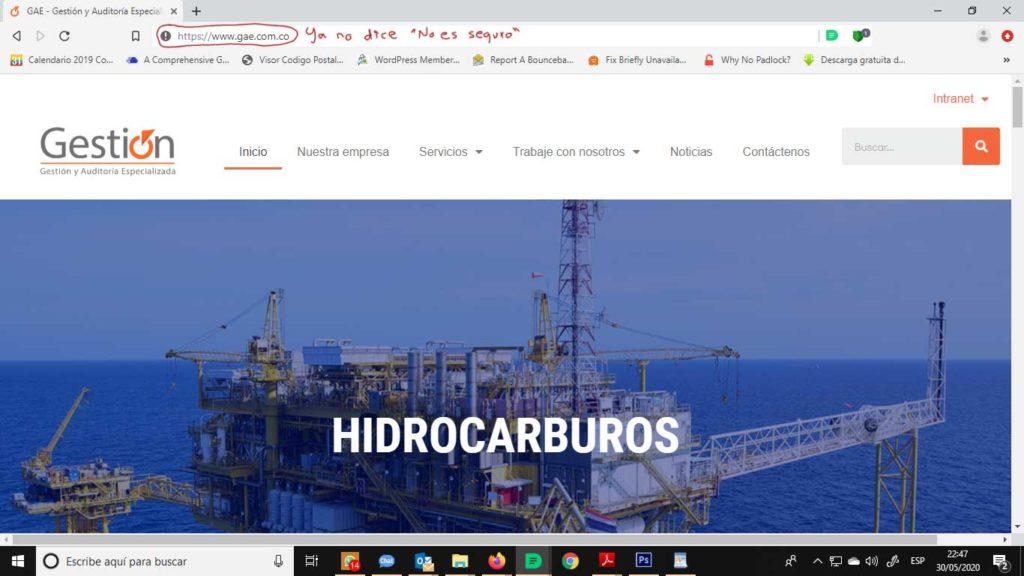 Tu Marketing Bogotá - Cómo obtener un certificado SSL gratis para tu hosting en GoDaddy 37