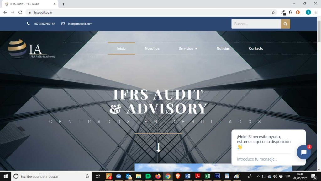 Tu Marketing Bogotá - IFRS Audit Portfolio