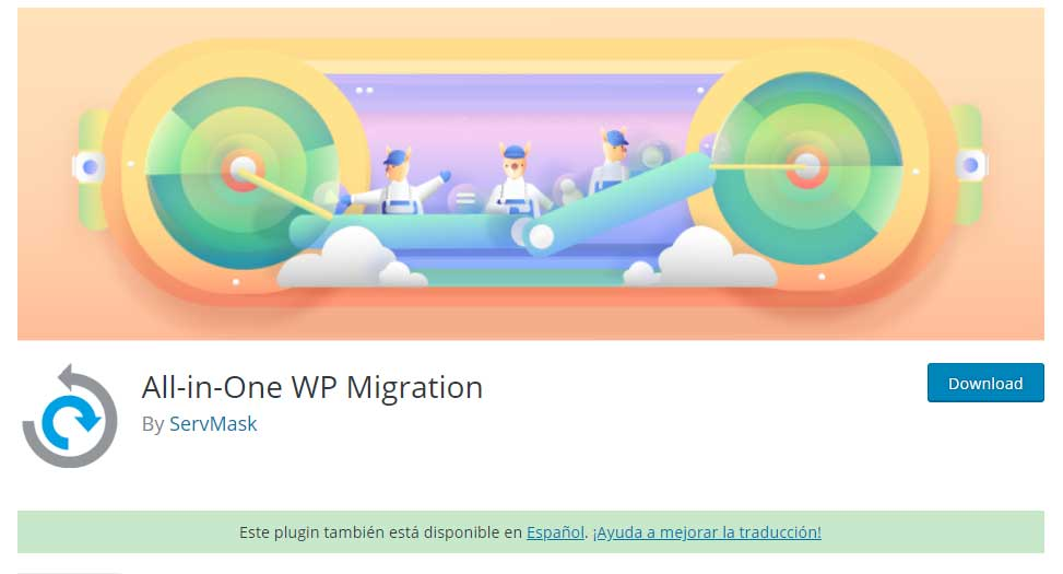 Tu Marketing Bogotá - All-in-One WP Migration