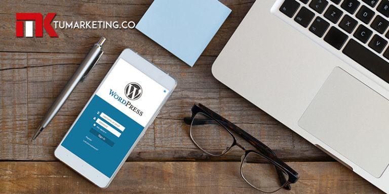 Tu Marketing Bogotá - Por qué deberías usar WordPress