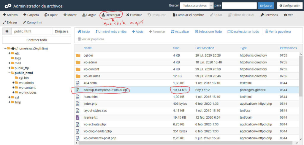 Tu Marketing Bogotá - Administrador de archivos 10.3