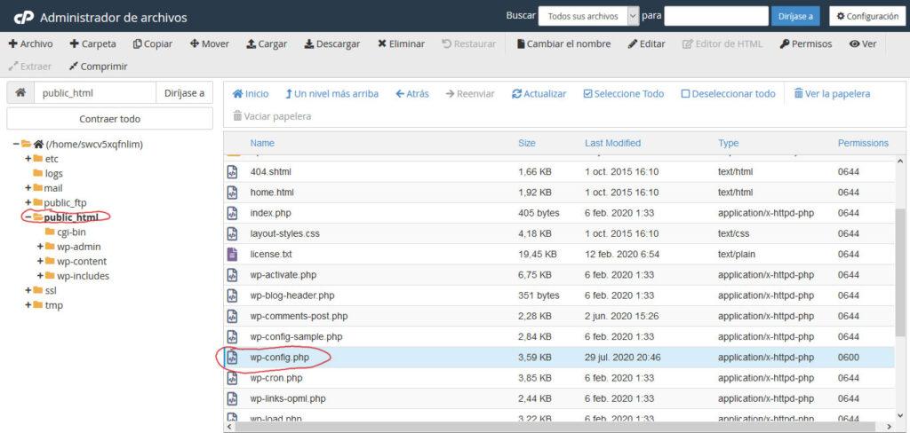 Tu Marketing Bogotá - Averigua el nombre de tu base de datos mySQL