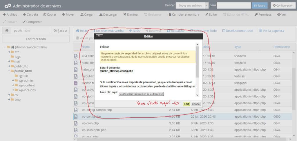 Tu Marketing Bogotá - Averigua el nombre de tu base de datos mySQL 3