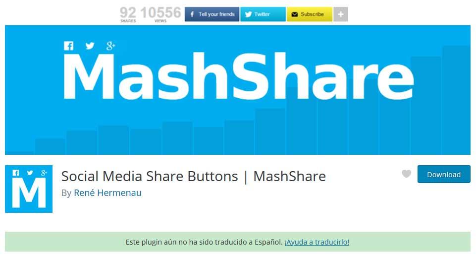 Tu Marketing Bogotá - Mash Share plugin