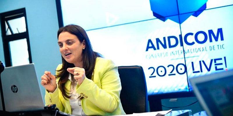 Karen Abudinen, ministra TIC.