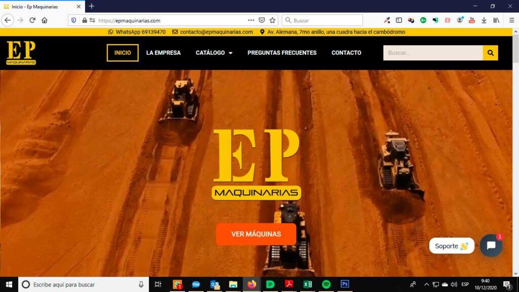 Tu Marketing Bogotá - EP Maquinarias