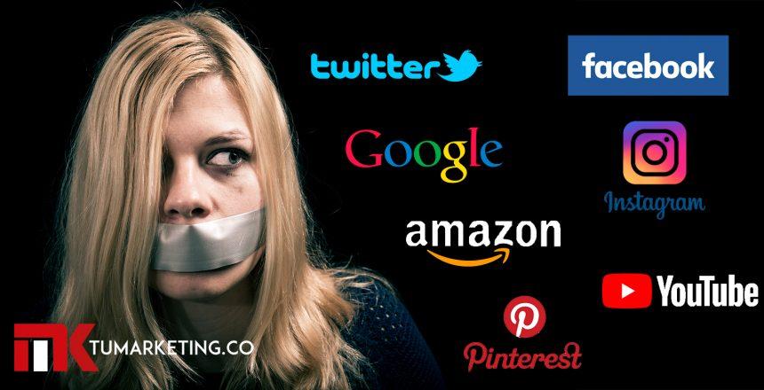 Tu Marketing Bogotá - Los izquierdistas de Silicon Valley estén eliminando los contenidos conservadores de todo el internet
